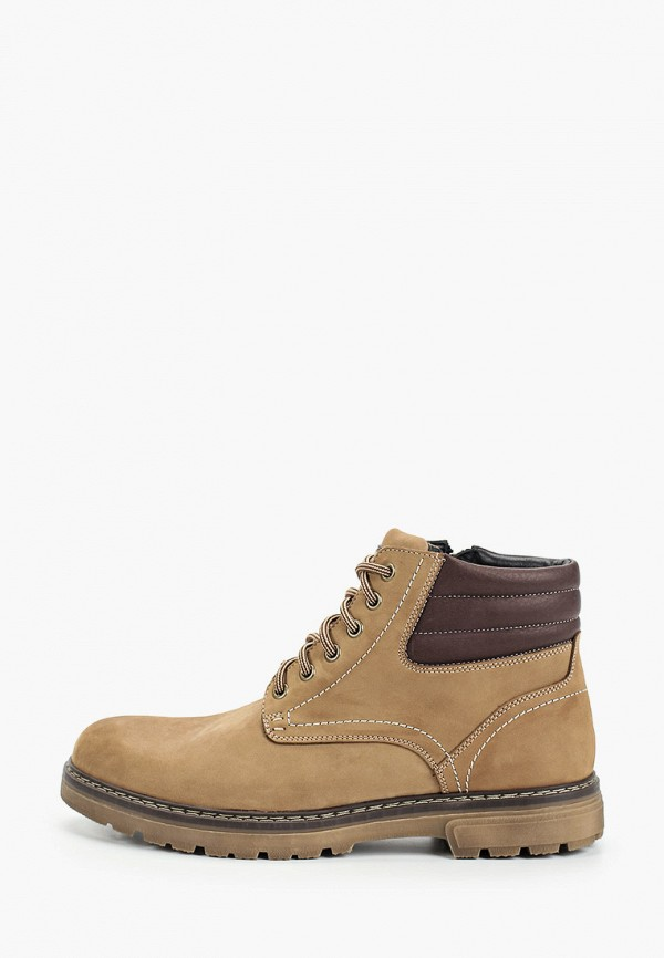 мужские ботинки respect, бежевые