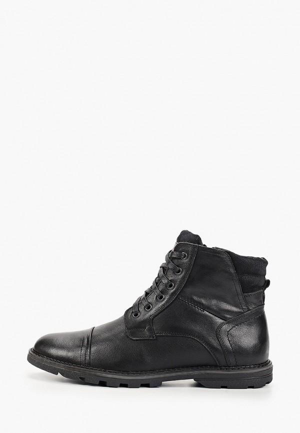 мужские высокие ботинки respect, черные