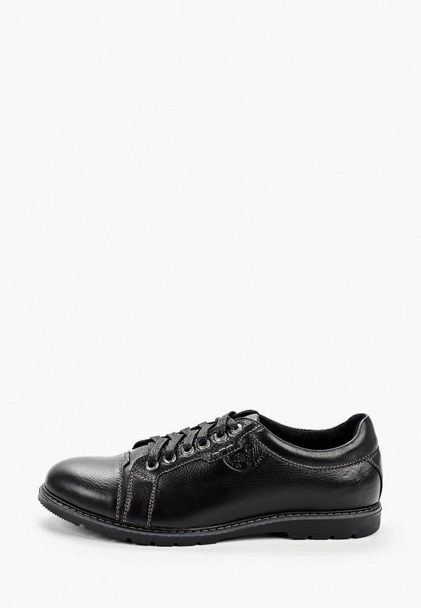 мужские туфли respect, черные