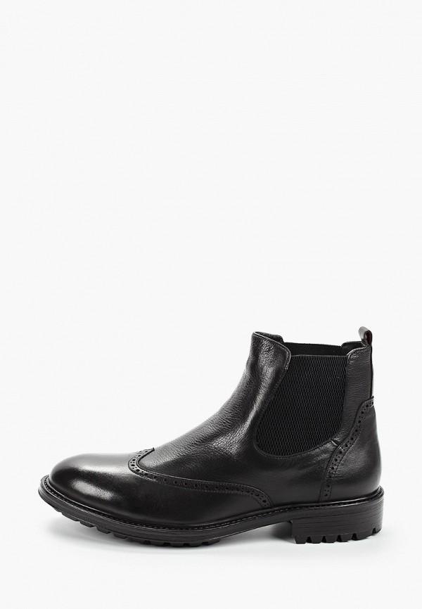 мужские ботинки respect, черные