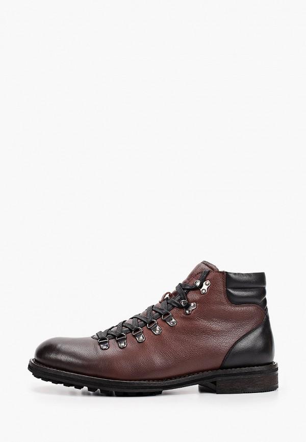 мужские высокие ботинки respect, коричневые