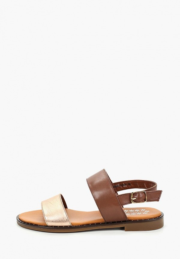 женские сандалии respect, коричневые