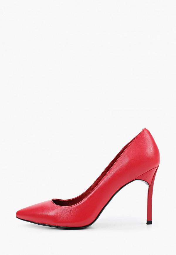 женские туфли respect, красные