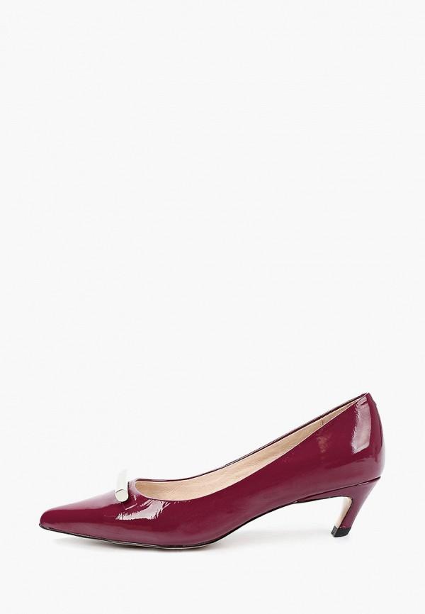 женские туфли respect, бордовые