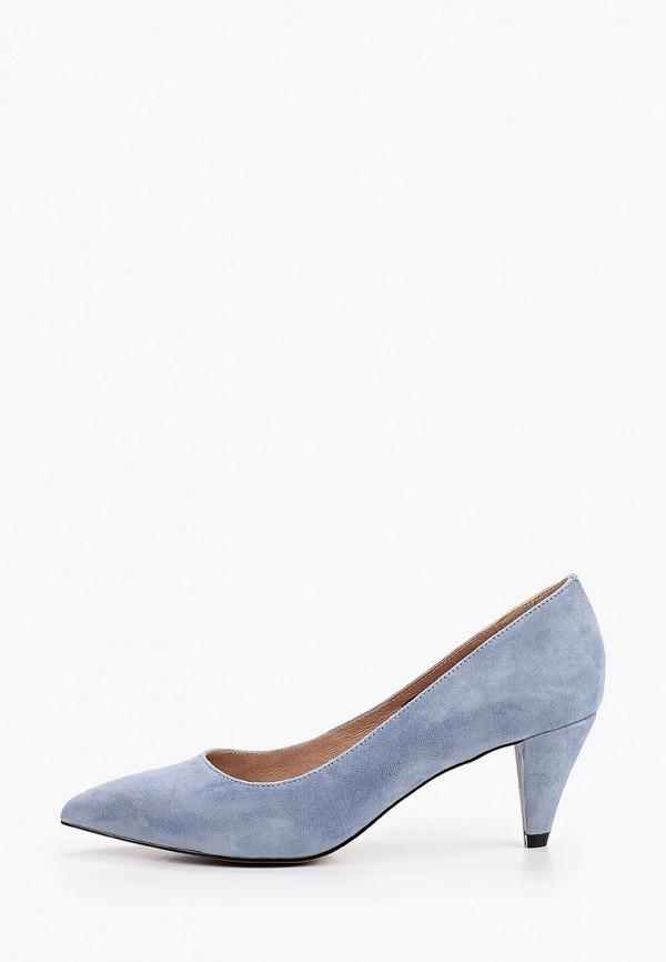 женские туфли respect, голубые