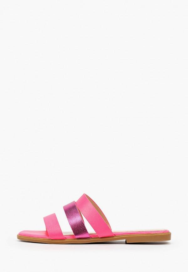 женское сабо respect, розовое