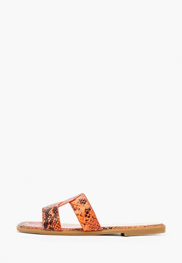 женское сабо respect, оранжевое