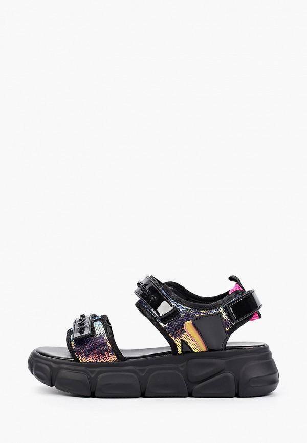 женские сандалии respect, черные