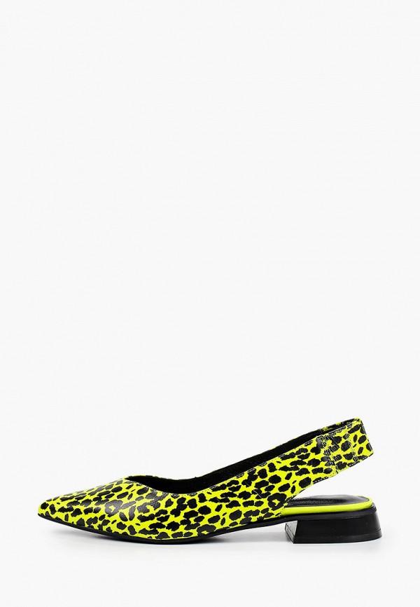 женские туфли respect, желтые