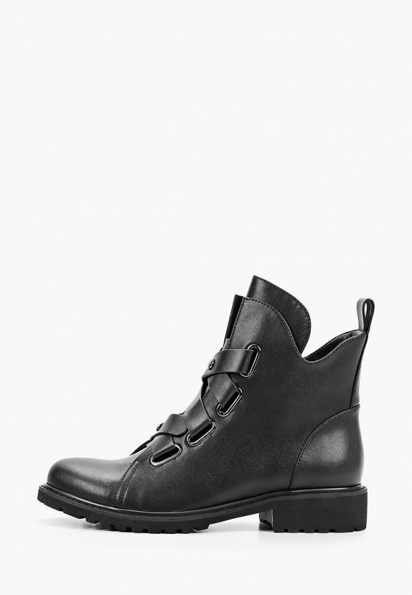 женские ботинки respect, черные