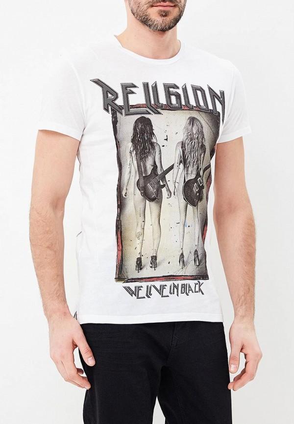 Футболка Religion Religion RE881EMBFRF3 футболка religion 27 bang05 black