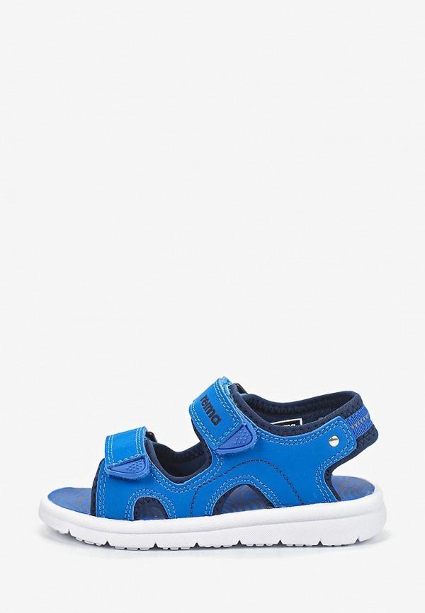 сандалии reima для мальчика, синие