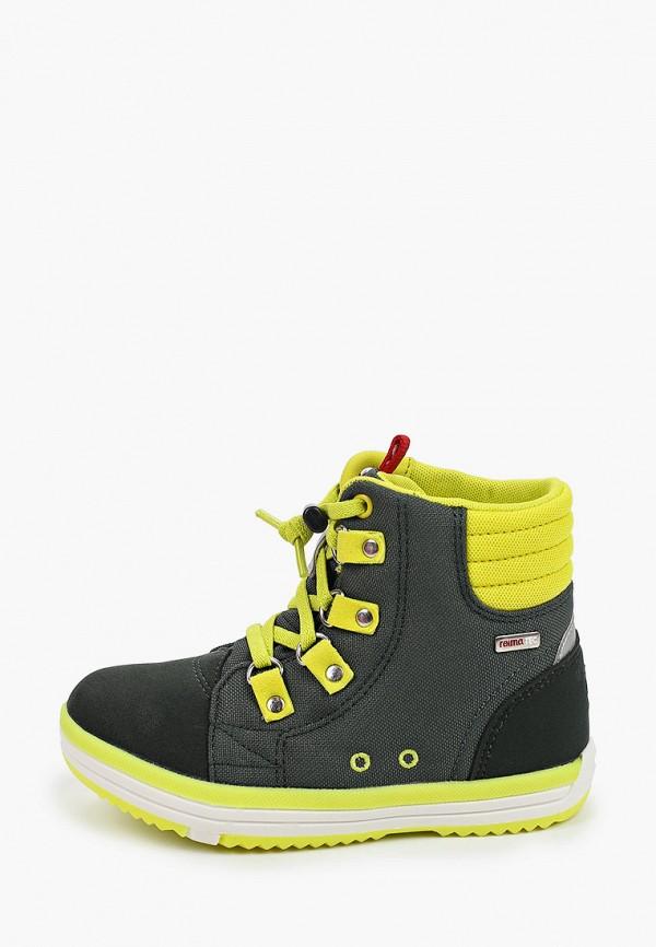 ботинки reima для мальчика, хаки