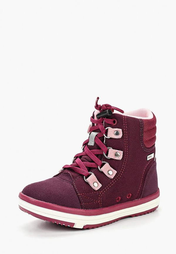 ботинки reima для девочки, фиолетовые