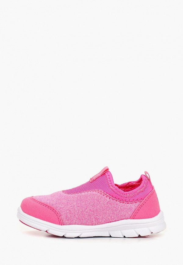 слипоны reima для девочки, розовые