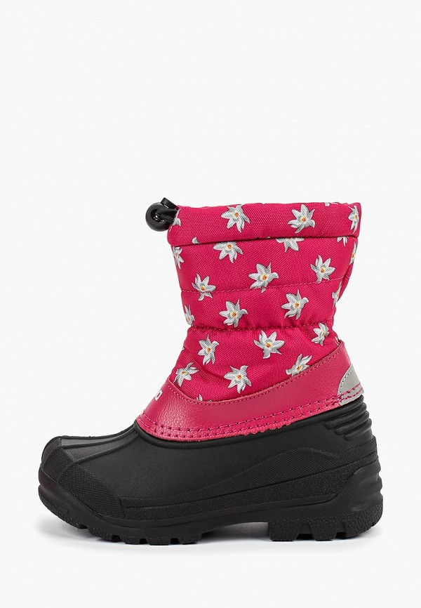дутики reima для девочки, розовые