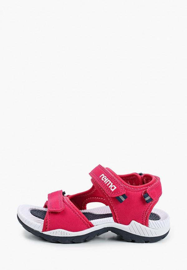 сандалии reima для девочки, розовые