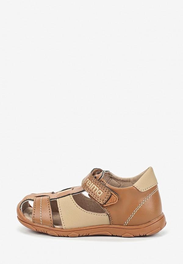 сандалии reima малыши, коричневые