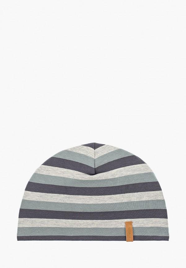 шапка reima для мальчика, серая