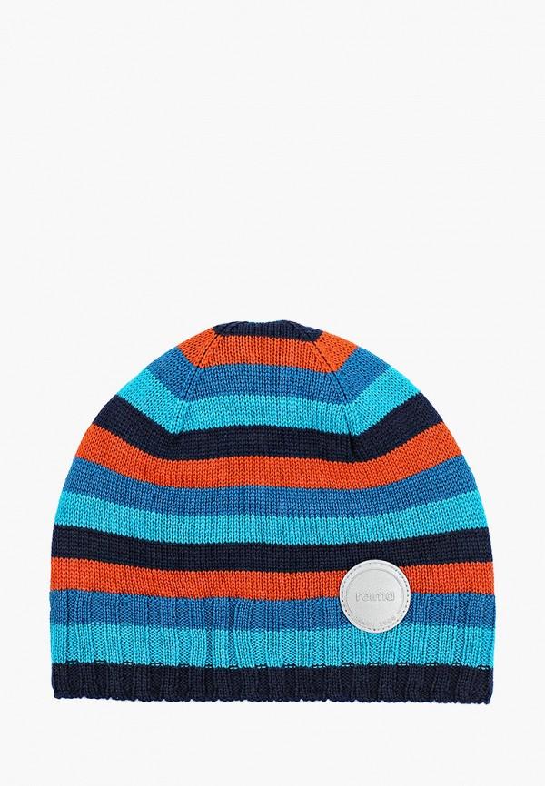 шапка reima для мальчика, разноцветная