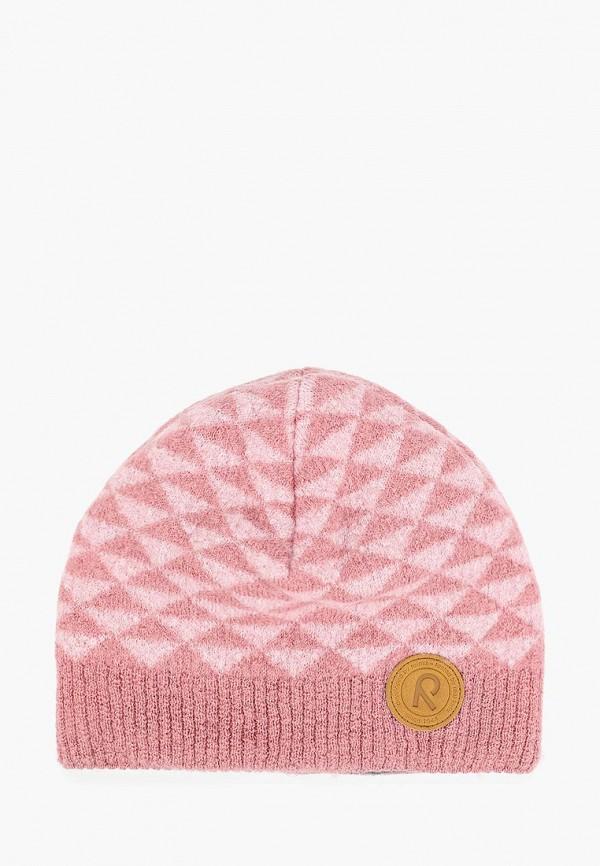шапка reima для девочки, розовая