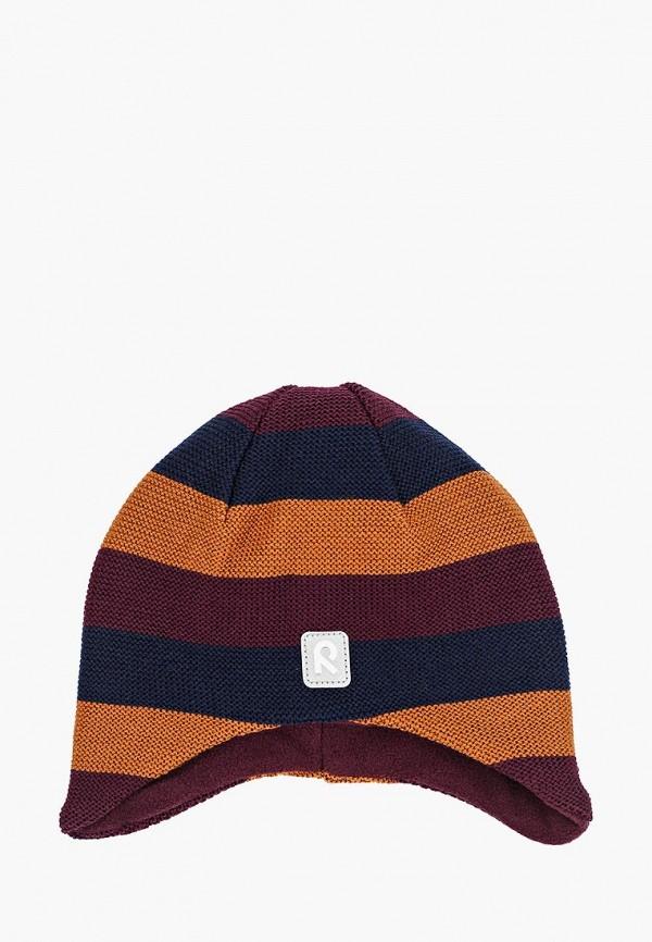 шапка reima для девочки, коричневая