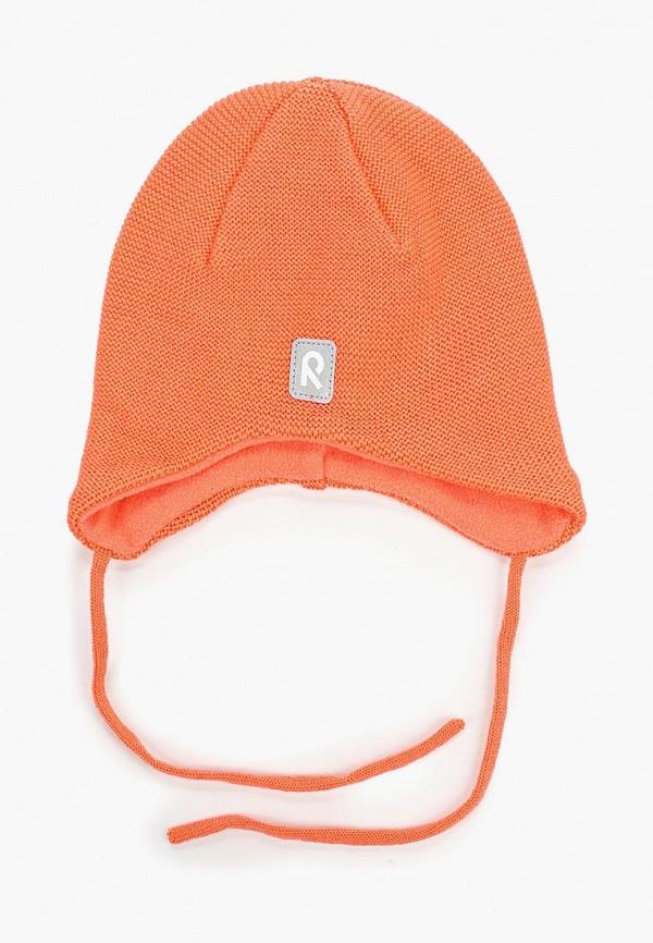 шапка reima для девочки, оранжевая