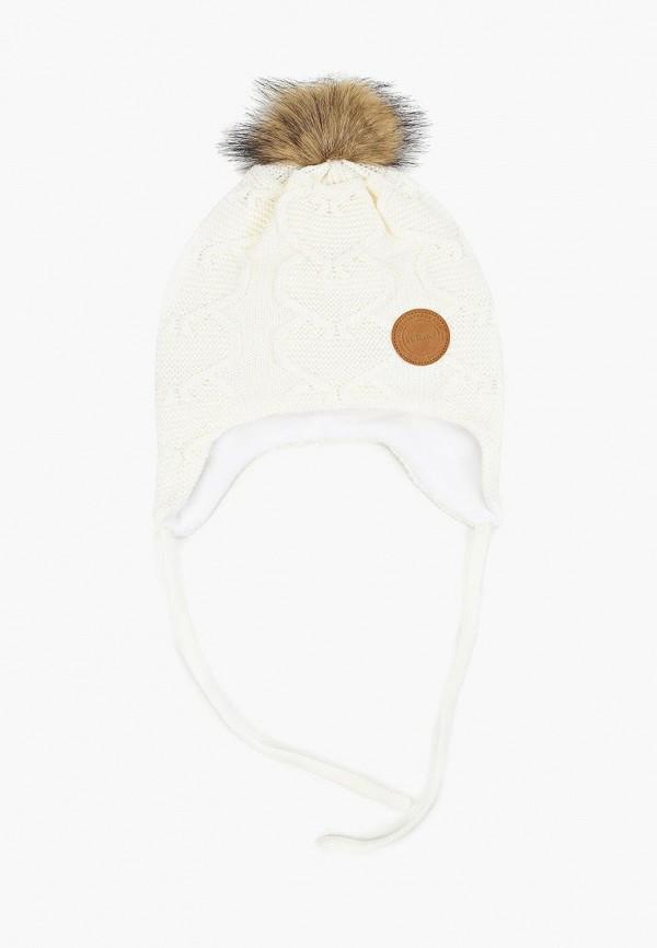 шапка reima для девочки, белая