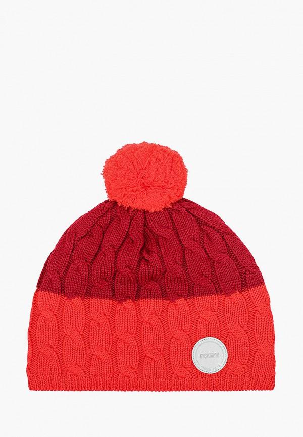 шапка reima малыши, красная