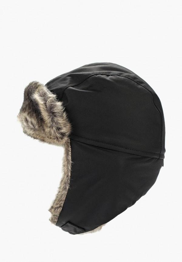 шапка reima для мальчика, черная