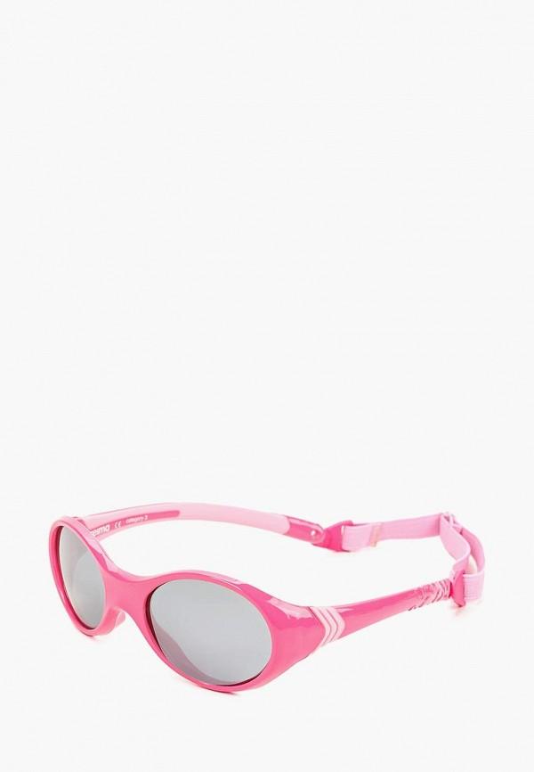 солнцезащитные очки reima для девочки, розовые