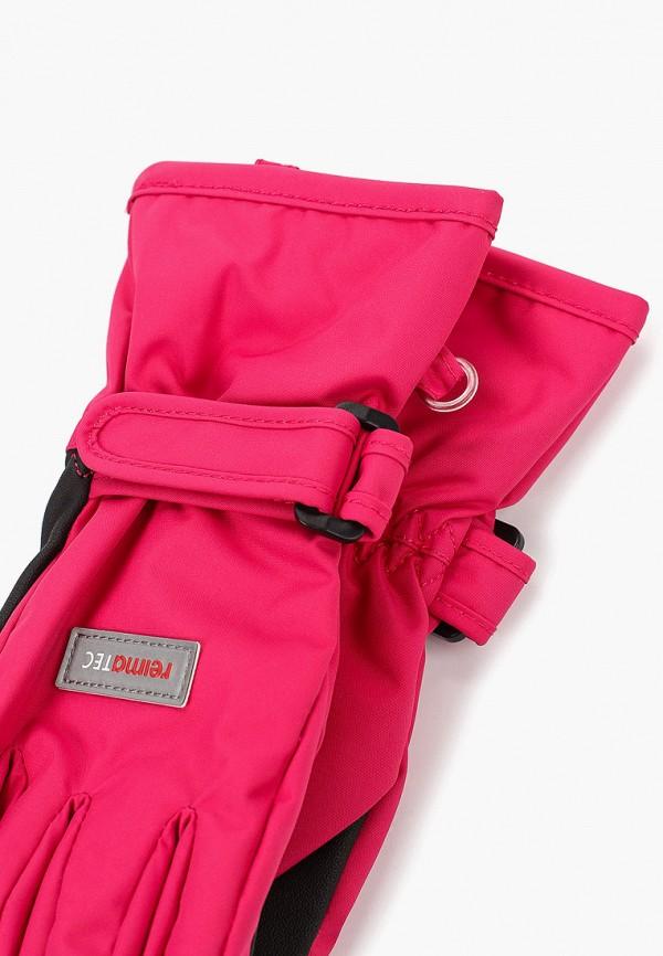 Фото 2 - Перчатки Reima розового цвета