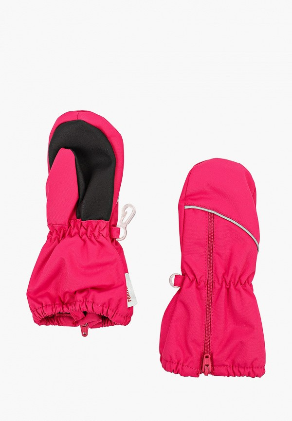 варежки reima для девочки, розовые