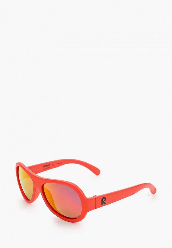 солнцезащитные очки reima малыши, красные