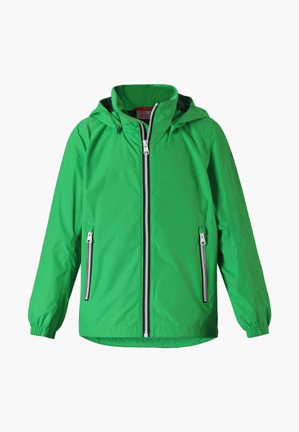 ветровка reima для мальчика, зеленая