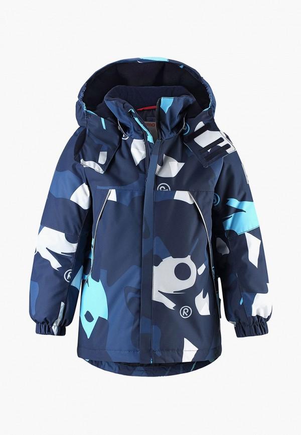 куртка reima для мальчика, синяя