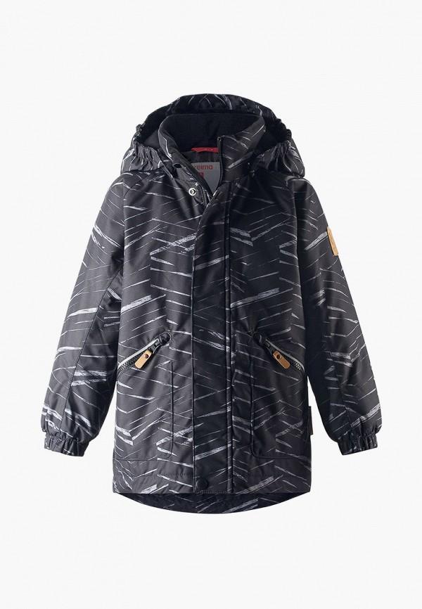 куртка reima для мальчика, серая