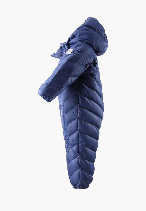 Фото 3 - Комбинезон утепленный Reima синего цвета