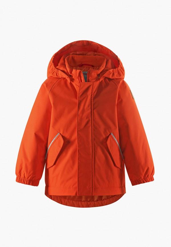 куртка reima для мальчика, оранжевая