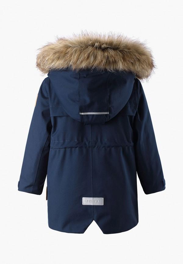 Фото 2 - Куртку утепленная Reima синего цвета