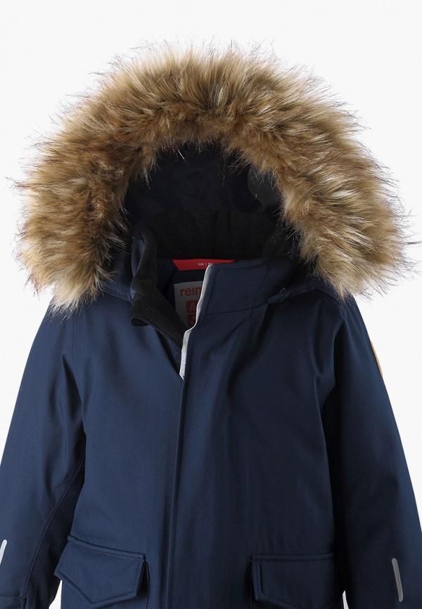 Фото 4 - Куртку утепленная Reima синего цвета