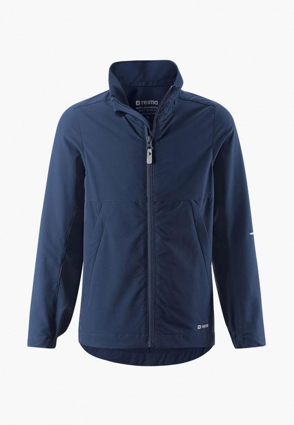 легкие куртка reima для мальчика, синяя