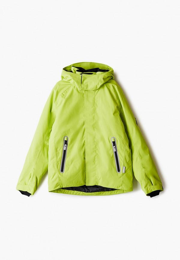 куртка reima для мальчика, зеленая
