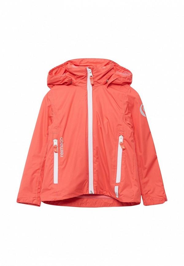 Куртка Reima, Tibia, RE883EGADQP6, коралловый, Весна-лето 2018  - купить со скидкой