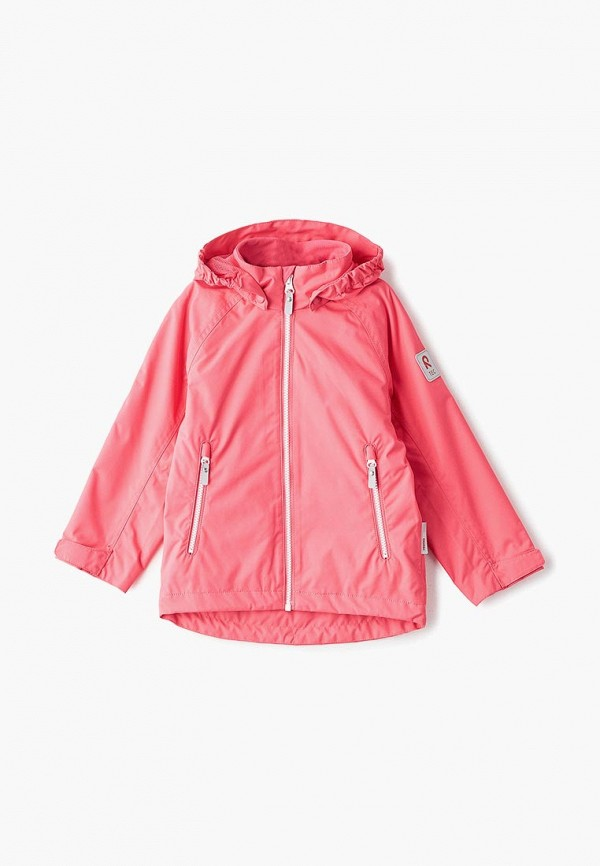 ветровка reima для девочки, розовая