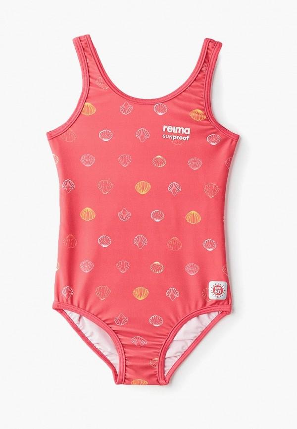 купальник reima для девочки, розовый