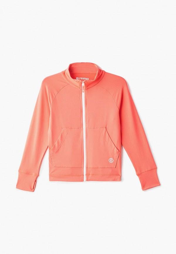 олимпийка reima для девочки, розовая