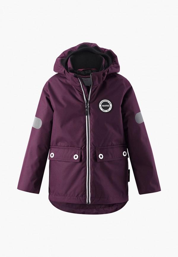 куртка reima для девочки, бордовая