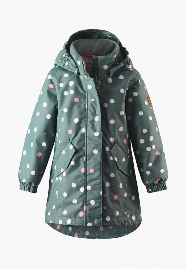 куртка reima для девочки, зеленая