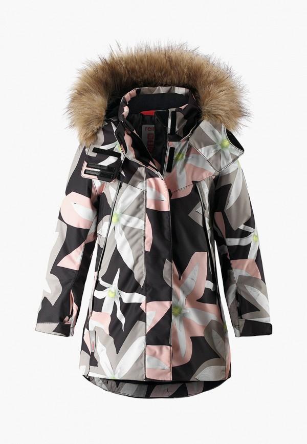 куртка reima для девочки, разноцветная